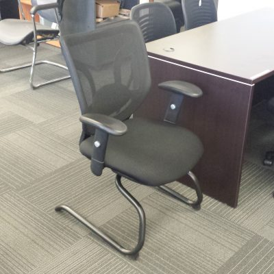 Guest chair office furniture used mesh back minneapolis minnesota
