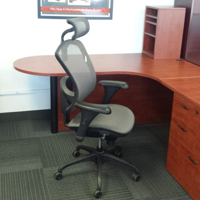 headrest chair mesh office furniture used minneapolis st. paul