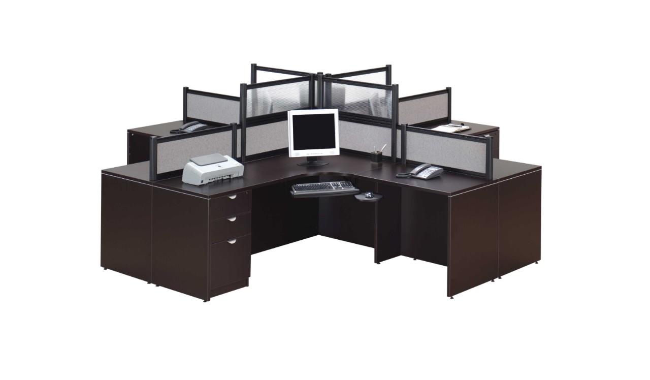 Laminate Desks With Borders Panels Office Liquidators